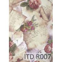 Бумага рисовая ITD A4 - R007