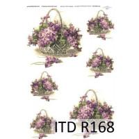 Бумага рисовая ITD A4 - R168