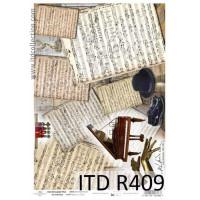 Бумага рисовая ITD A4 - R409
