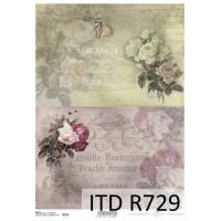 Бумага рисовая ITD A4 - R729