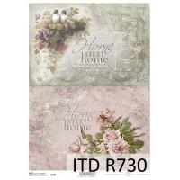 Бумага рисовая ITD A4 - R730