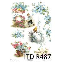 Бумага рисовая ITD A4 - R487