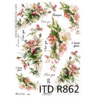 Бумага рисовая ITD A4 - R862