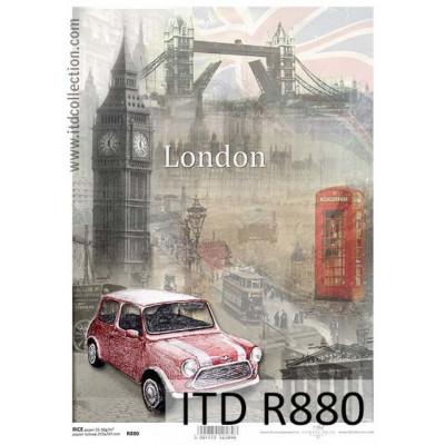 Бумага рисовая ITD A4 - R880