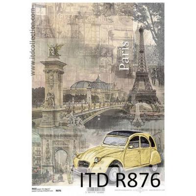 Бумага рисовая ITD A4 - R876
