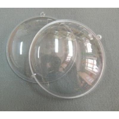Медальон разъемный прозрачный 9см