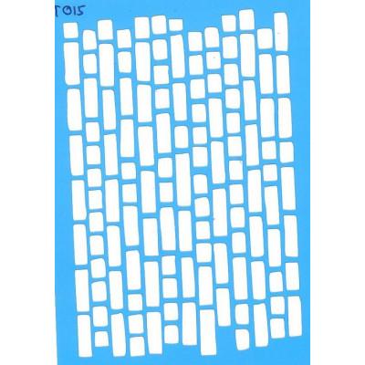 Трафарет  пластик T015 10*15