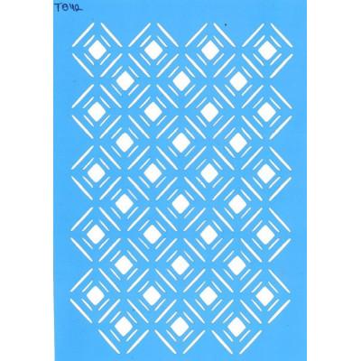 Трафарет  пластик Т042 15*20