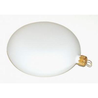 Медальйон пластиковий білий 20см