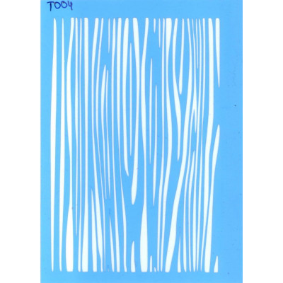 Трафарет  пластик T004 10*15