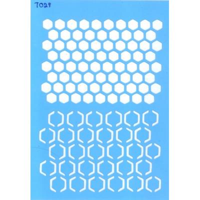 Трафарет  пластик T028 10*15