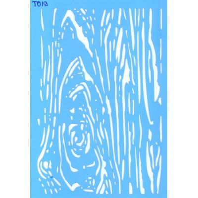 Трафарет  пластик T019 10*15