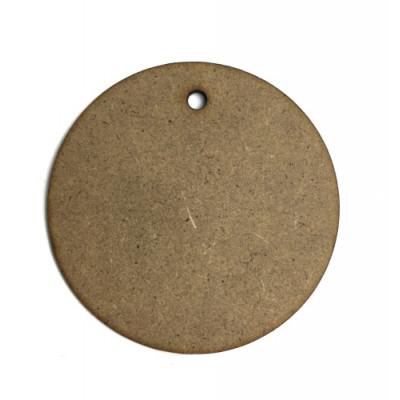 Заготовка круг з диркою 6.6 см