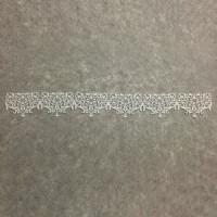 Гнучкий декор мереживо №026  (37см*4.5см)