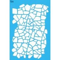 Трафарет  пластик T216 10*15