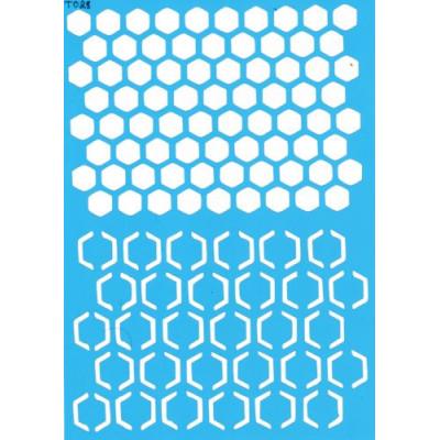 Трафарет  пластик Т028 15*20