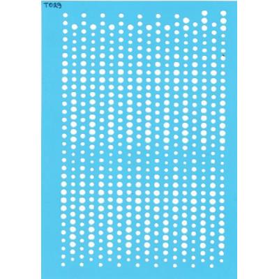 Трафарет  пластик Т029 15*20