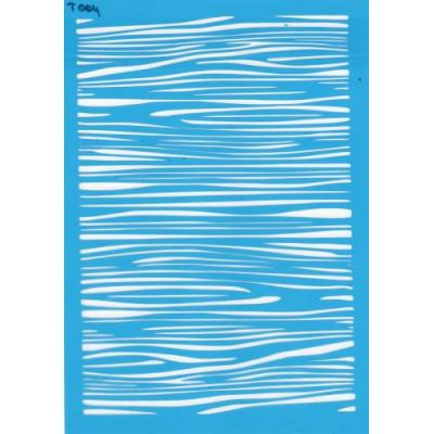 Трафарет  пластик Т004 15*20