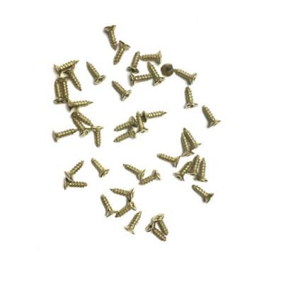 Шуруп 2.5*6 золото