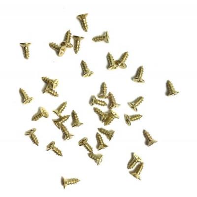 Шуруп 2.5*8 золото