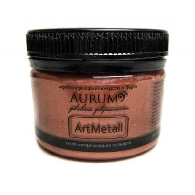 Фарба акрил. металік Aurum мідь 100г