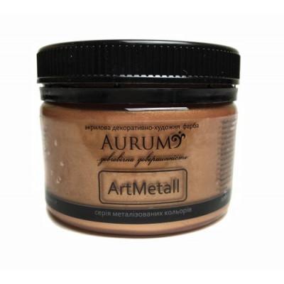 Фарба акрил. металік Aurum бронза 100г
