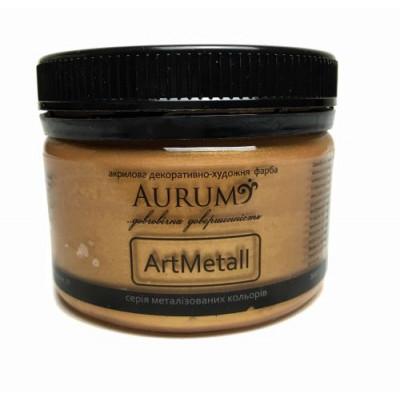 Фарба акрил. металік Aurum червоне золото 100г