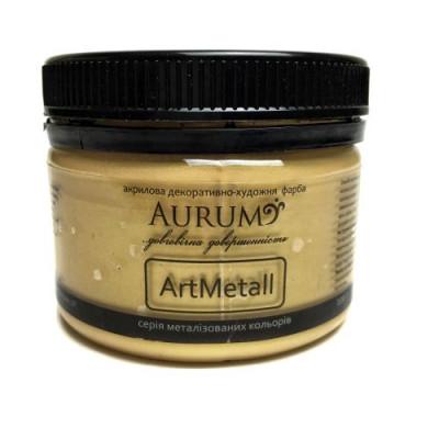 Фарба акрил. металік Aurum світле золото 100г