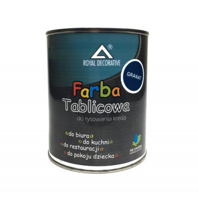 Фарба таблична ROYAL 750мл синя