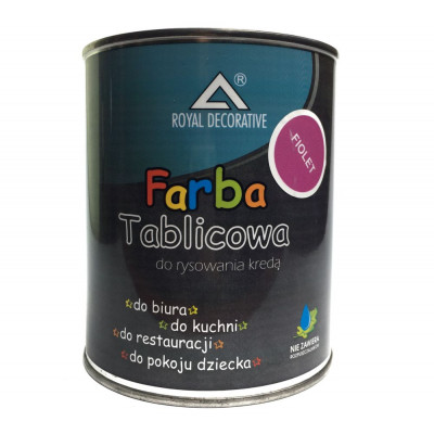 Фарба таблична ROYAL 750мл фіолетова
