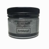 Фарба акрил. металік Aurum срібло темне 100г