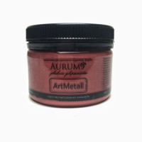 Фарба акрил. металік Aurum червоне вино 100г