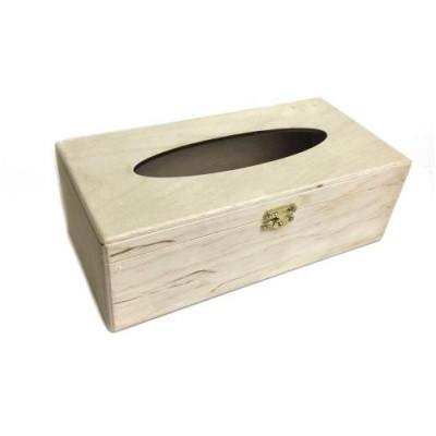 Коробка д/серветок з замком 24*12*8