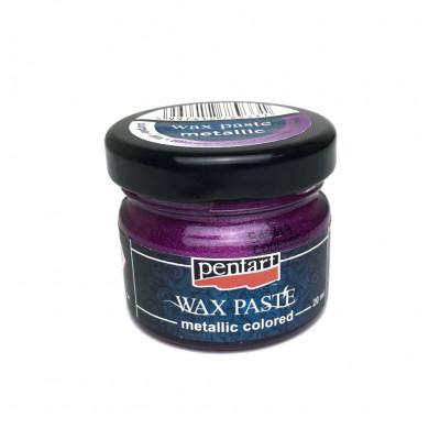 Паста воскова Pentart 20мл фіолетовий