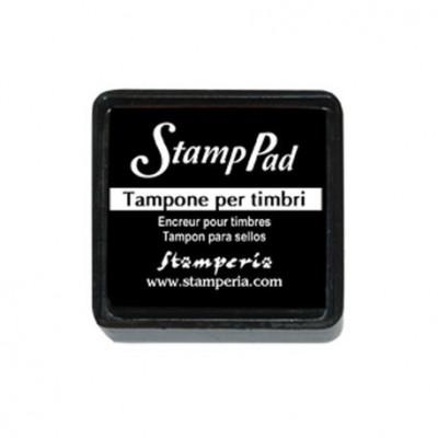 Подушечка д/штампів Stamperia WKP06P чорна