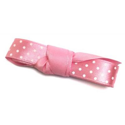 Стрічка (атлас горох) 1.5см -2м рожевий