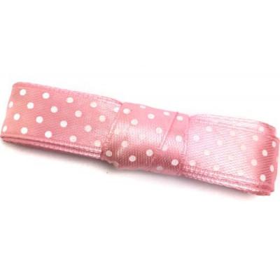 Стрічка (атлас горох) 1.5см -2м світло-рожевий