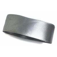 Стрічка (атлас/органза) 2.5см -2м сірий