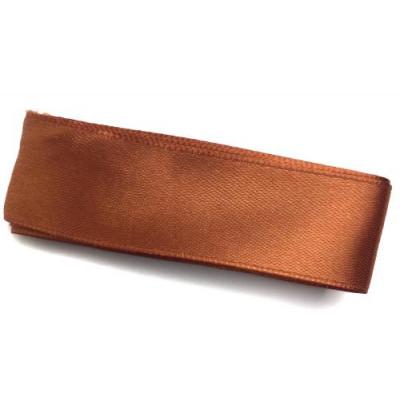 Стрічка (атлас/органза) 2.5см -2м оранжевий