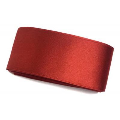 Стрічка (атлас/органза) 4см -2м червоний