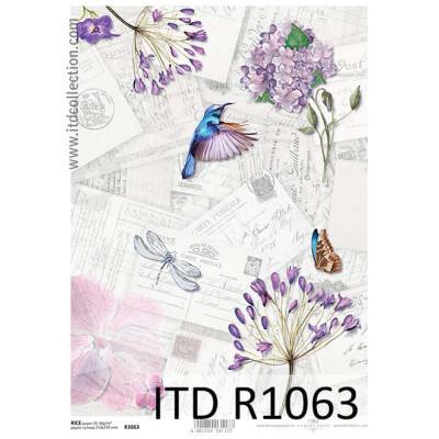 Бумага рисовая ITD A4 - R1063