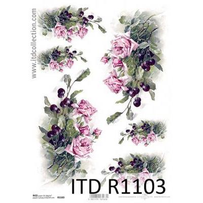 Бумага рисовая ITD A4 - R1103