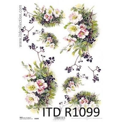 Бумага рисовая ITD A4 - R1099