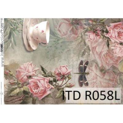 Бумага рисовая ITD A3 - R058L