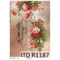Бумага рисовая ITD A4 - R1187