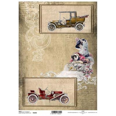 Бумага рисовая ITD A4 - R1043