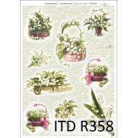 Бумага рисовая ITD A4 - R358