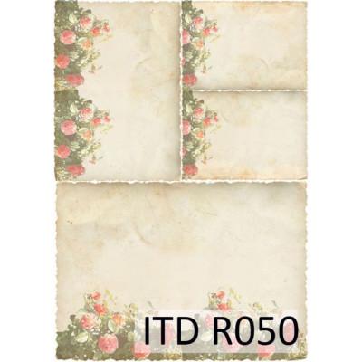 Бумага рисовая ITD A4 - R050