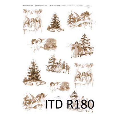 Бумага рисовая ITD A4 - R180