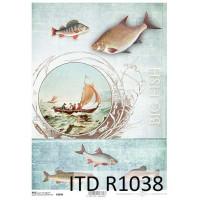 Бумага рисовая ITD A4 - R1038